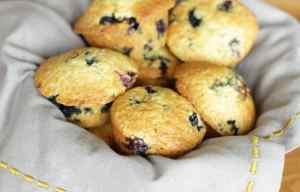 Heidelbeer-Sauerrahm Muffins