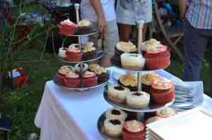 Wie ich Cupcakes für eine Hochzeit gebacken habe