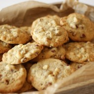 Pecan White Chocolate Cookies