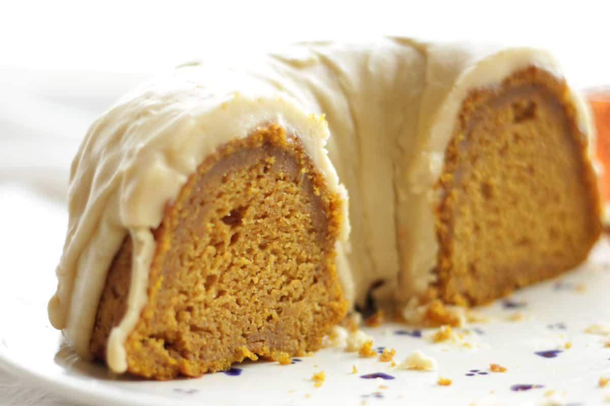 Easy Caramel Glaze For A Bundt Cake