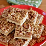 Soft & Chewy Pecan Bars