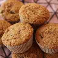 Honig-Weizenkleie-Muffins