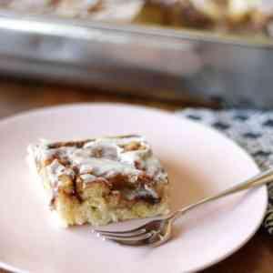 Marmorierter Zimtkuchen