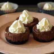Schoko-Cheesecake Cupcakes