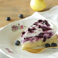 Blueberry Topfen Torte