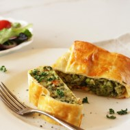 Potato Strudel with Vegetables & Herbs