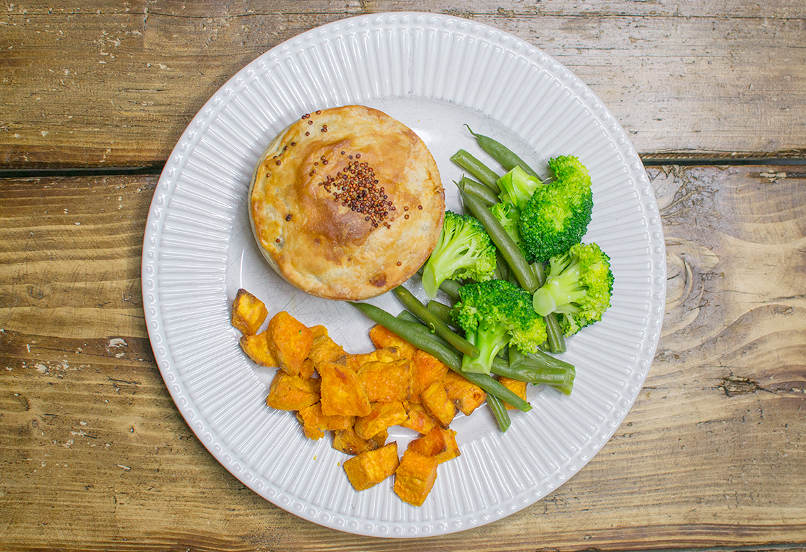 PIEMINISTER VEGAN PIE TASTE TEST