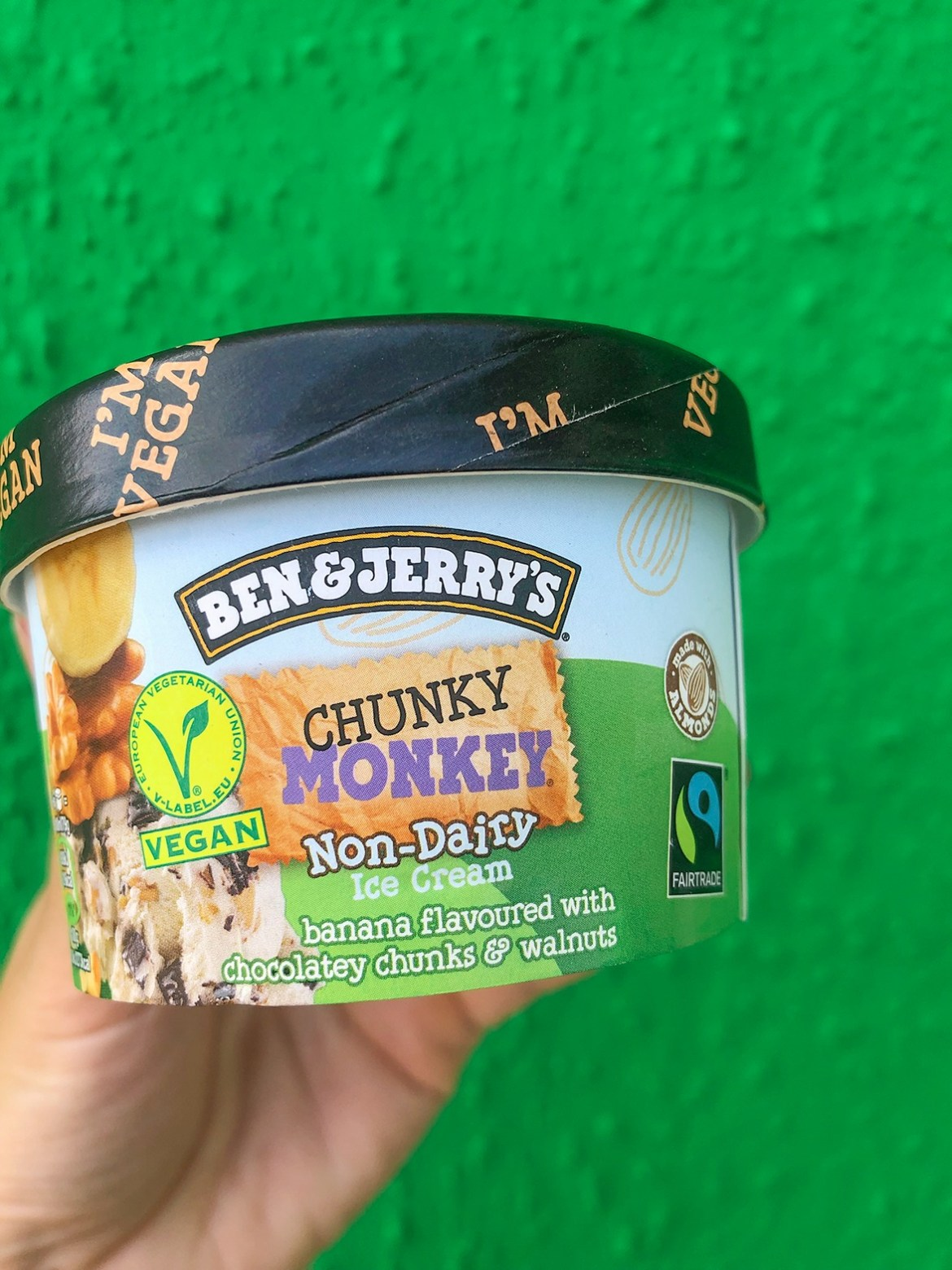 ben and jerry's chunky monkey non-dairy ice cream