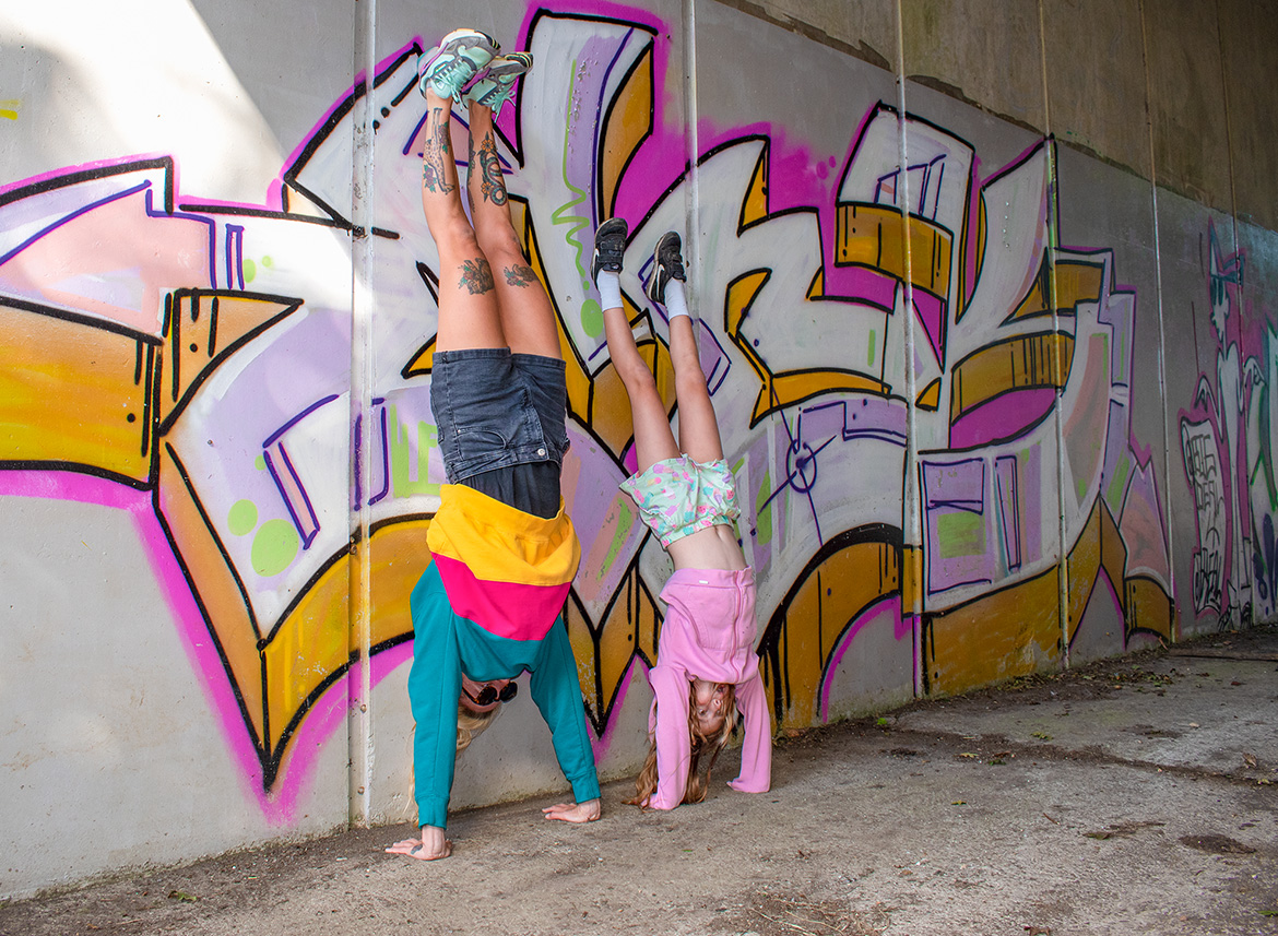 handstands against wall