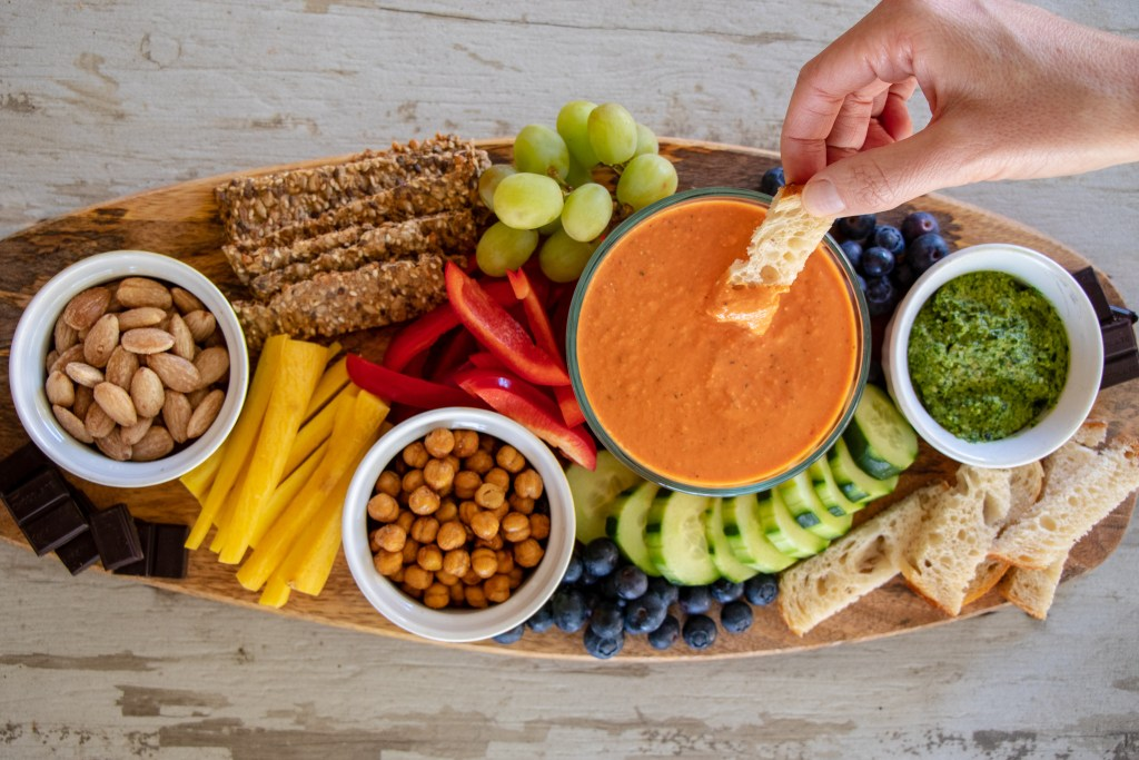 Simple Steps to Creating an Easy Crudite Platter -