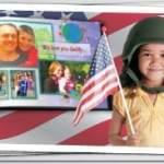Send a free photo book to U.S. troops