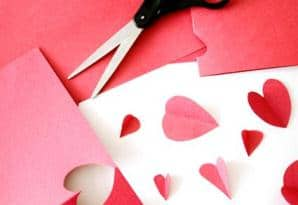 Cheap, quick and easy homemade valentines