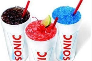 Sonic Drive-In: Large drink for 99-cents before 10am