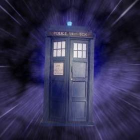 Transform a cardboard box into Dr. Who's Tardis.