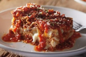 Free take-home lasagne at Carrabba's Italian Grill