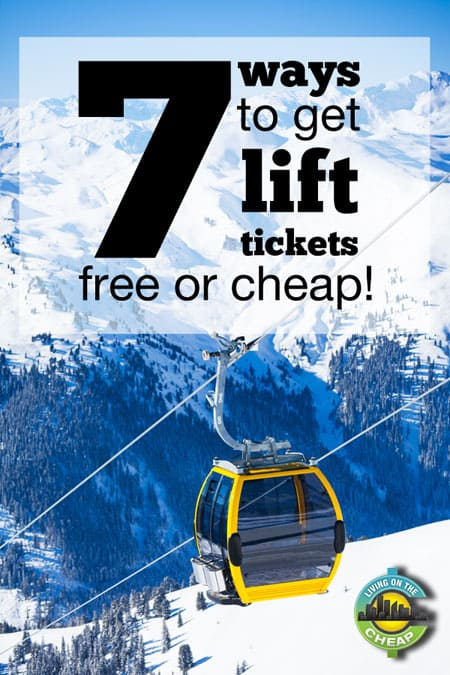 With the cost of skiing full-day lift tickets reaching $100 at many resorts, frugal families may find skiing too expensive this year. But instead of skipping the slopes all season, try these simple ideas to save big on lift tickets.