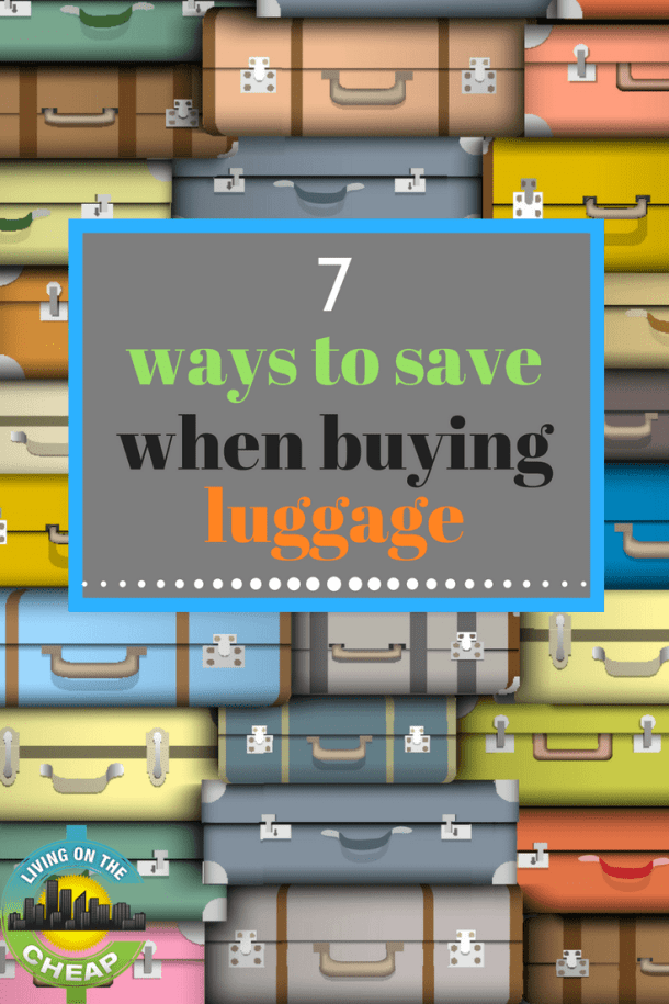 """Buying luggage can be as nerve-wracking as buying a car. Do you want a low-cost, stripped-down model that simply gets you from point A to point B or do you need fancy features and shiny extras? A heavyweight that will stand up to any collision or something lighter that may dent easily? A lifetime warranty or no coverage once you """"drive"""" it out of the store? Here are six ways to save during your next suitcase-shopping expedition."""