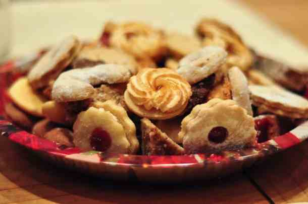 Christmas cookies Austria