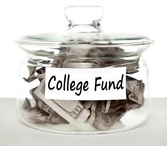college fund money jar ( TaxCredits.net photo)