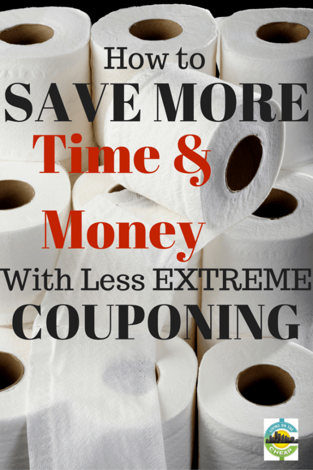 Save Time & Money With Less Extreme Couponing