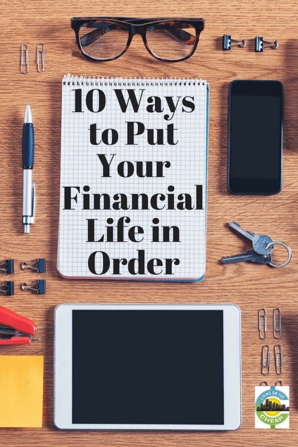 10-ways-to-put-your-financial-life-in-order