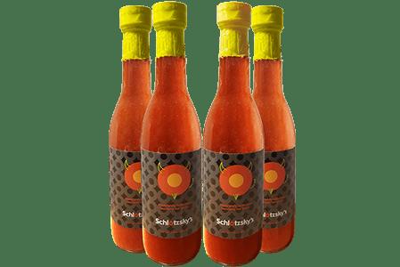 Schlotzsky's: Get free bottle of signature hot sauce on Valentine's Day