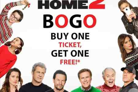Regal Cinemas: BOGO free ticket for 'Daddy's Home 2'