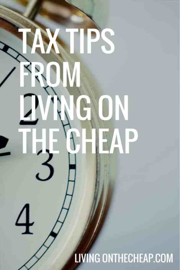 Taxes are complicated but make sure you get them done right with these tips from Living on the Cheap