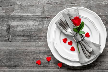 Frugal, easy Valentine's dinner menu