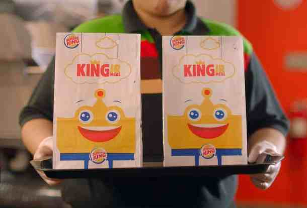 two free kids meals at burger kind when you online/app order