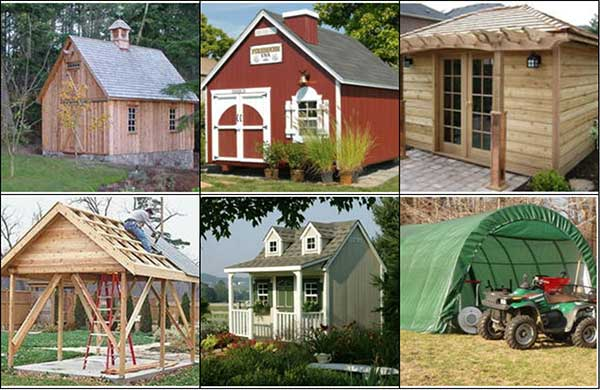 do it yourself sheds