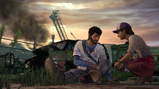 The Walking Dead seasson 3 a New Frontier ep 2