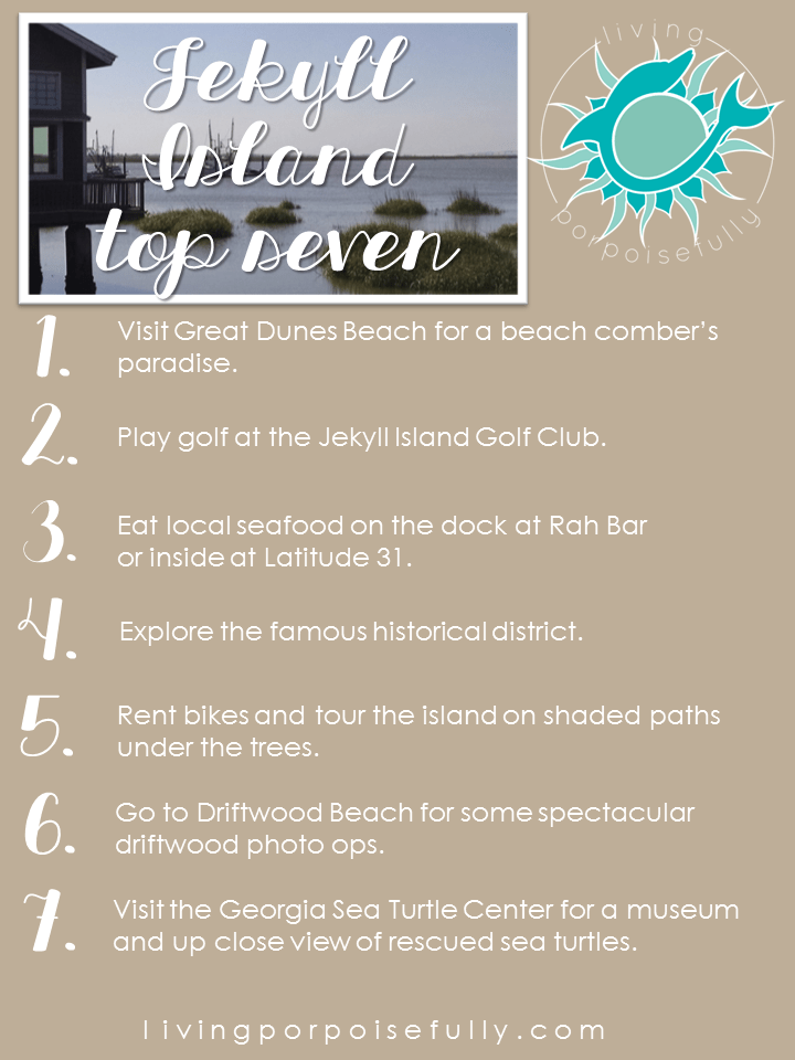 Top 7 Things to Do In Jekyll Island