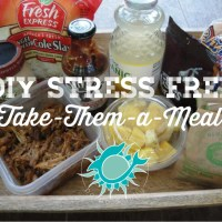 "DIY Stress Free ""Take-Them-a-Meal"""