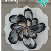 DIY Mussel Shell Bloom