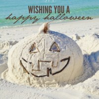 Happy Halloween, Beach Style