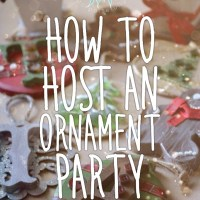 How to Host an Ornament Party