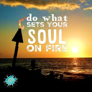 do what sets your soul on fire