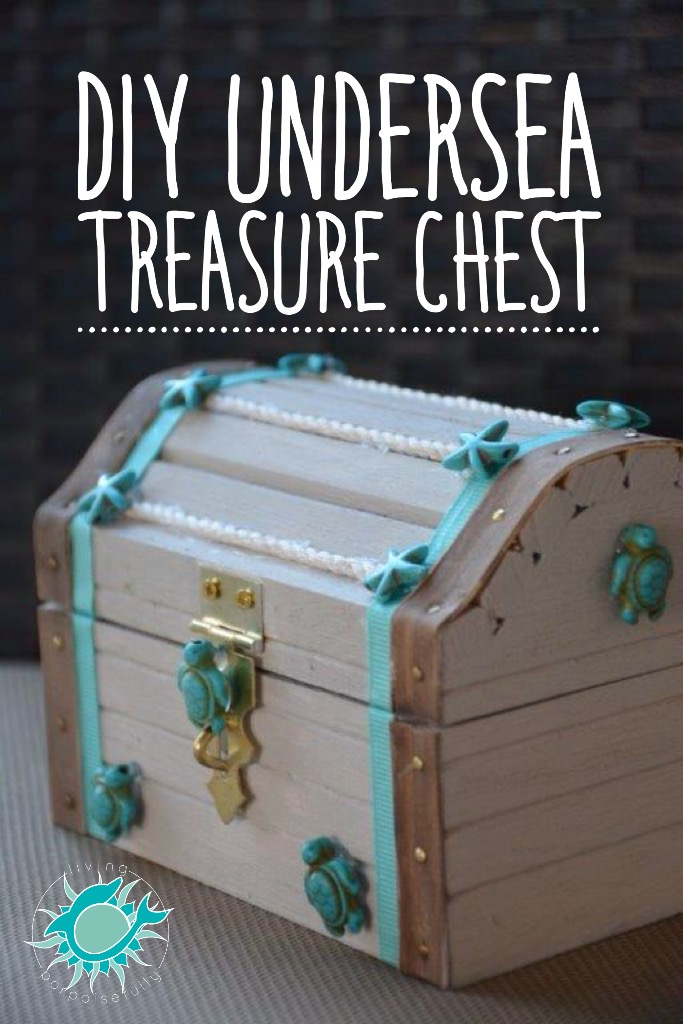 DIY Undersea Treasure Chest