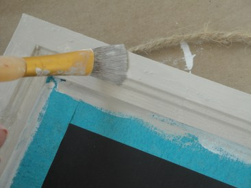 undersea chalkboard name plate step 2