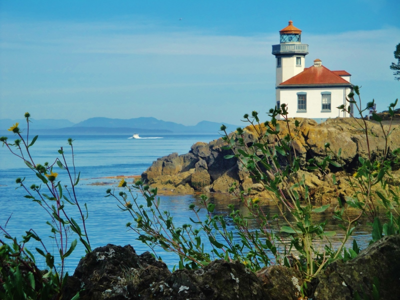 Lime Kiln Lighthouse 1