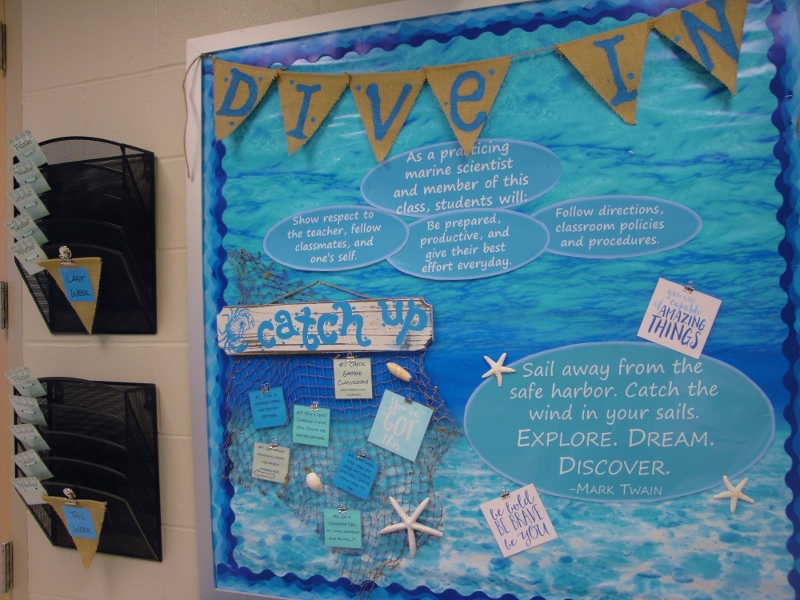 Dive In Bulletin Board (with make up work station) (800x600)