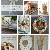 15 DIY Coastal Fall Ideas