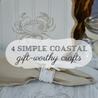 4 Simple Coastal Gift-Worthy Crafts