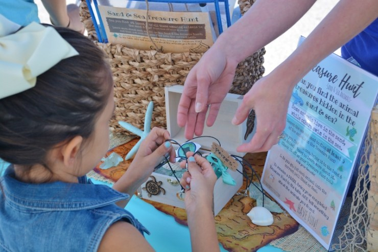 Sand and Sea Animals Treasure Hunt PRIZES