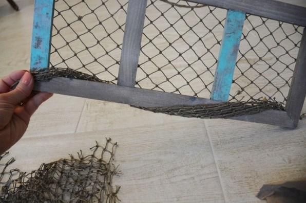 fishing net frame diy 8