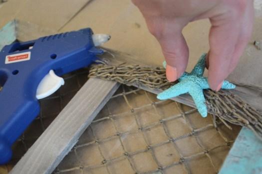 hot glue starfish