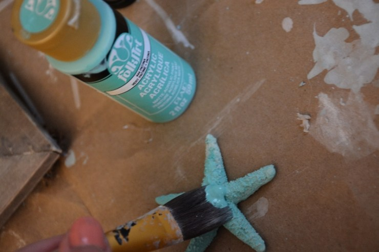 paint starfish