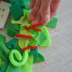 bend pipe cleaner to put around seahorse and add a scarf
