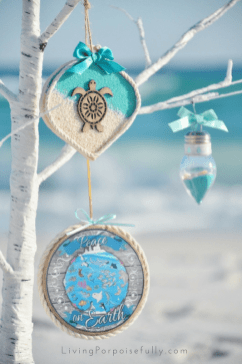 Coastal Ocean Ornaments
